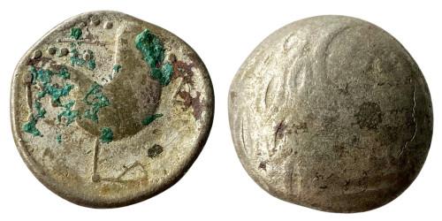 Кельтское подражание тетрадрахме Филиппа II Македонского 3-4 век. до н.э. №8