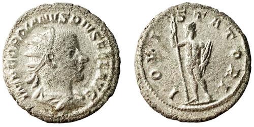 Антониниан 238 — 244 г. н.е. — Гордиан III (Юпитер) — серебро