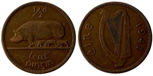1/2 пенни 1941 Ирландия