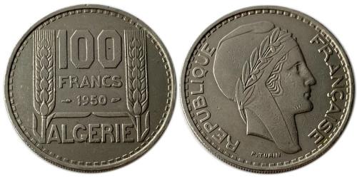 100 франков 1950 Алжир