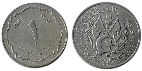 1 сантим 1964 Алжир UNC
