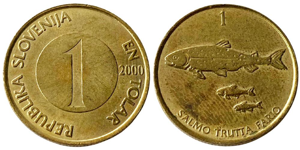1 толар 2000 Словения