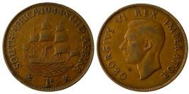 1 пенни 1944 ЮАР