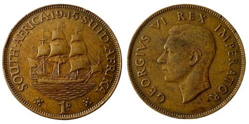 1 пенни 1945 ЮАР