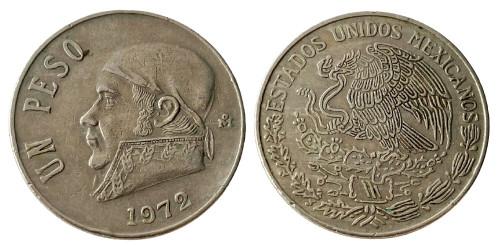 1 песо 1972 Мексика