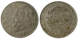 1 песо 1981 Мексика