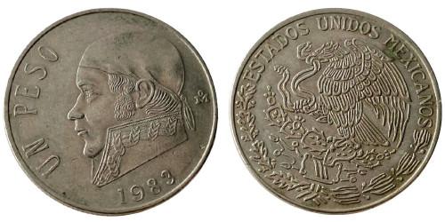 1 песо 1983 Мексика