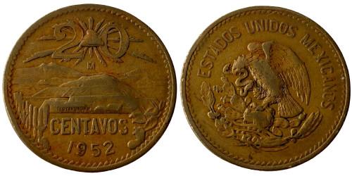 20 сентаво 1952 Мексика