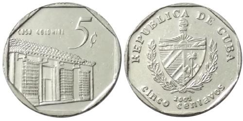 5 сентаво 2002 Куба