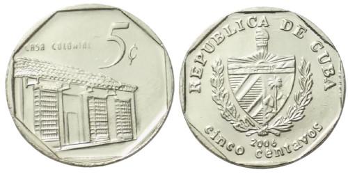 5 сентаво 2006 Куба