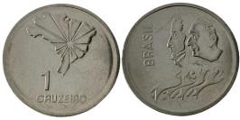 1 крузейро 1972 Бразилия — 150-я годовщина Декларации о независимости