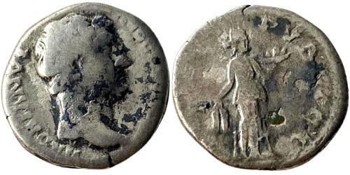 Денарий 117 — 138 г. н.е. — Адриан — серебро