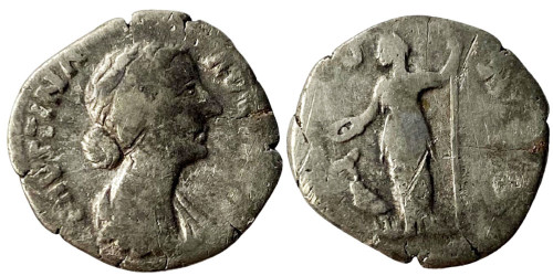 Денарий 125/130 — 175 г. н.е. — Фаустина II