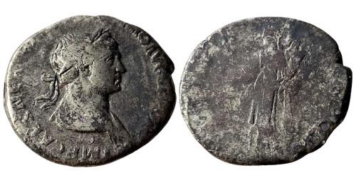 Денарий 98 — 117 г. н.е. — Траян — серебро №3