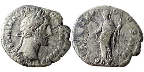Денарий 138 — 161 г. н.е. — Антонин Пий — серебро №4