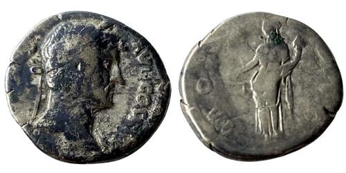 Денарий 117 — 138 г. н.е. — Адриан — серебро №1