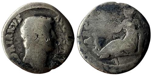 Денарий 117 — 138 г. н.е. — Адриан — серебро №2