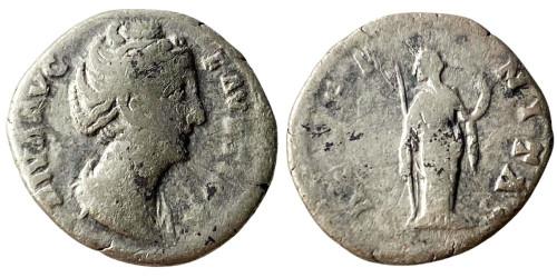 Денарий 125/130 — 175 г. н.е. — Фаустина II №3
