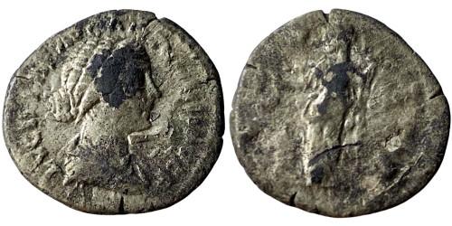 Денарий 125/130 — 175 г. н.е. — Фаустина II №4