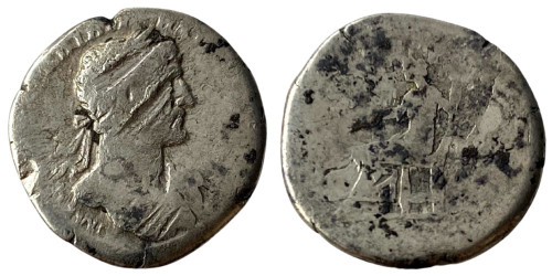 Денарий 117 — 138 г. н.е. — Адриан — серебро №4