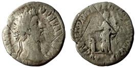 Денарий 161 — 192 г. н.е. — Коммод — серебро №1