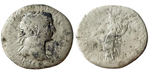 Денарий 98 — 117 г. н.е. — Траян — серебро №4