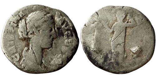 Денарий 164 — 191 г. н.е. — Криспина — серебро