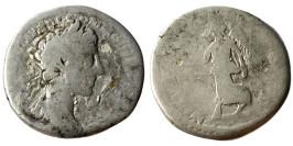 Денарий 161 — 192 г. н.е. — Коммод — серебро №2