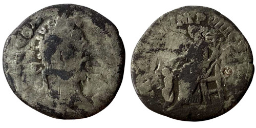 Денарий 161 — 192 г. н.е. — Коммод — серебро №3