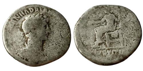 Денарий 117 — 138 г. н.е. — Адриан — серебро №5