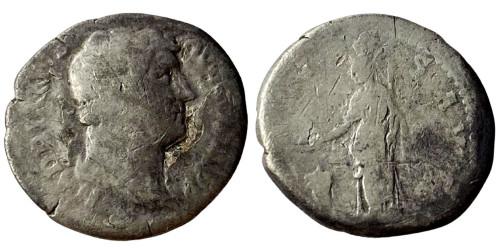 Денарий 117 — 138 г. н.е. — Адриан — серебро №6