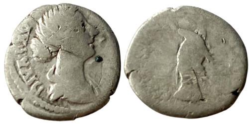 Денарий 125/130 — 175 г. н.е. — Фаустина II №5