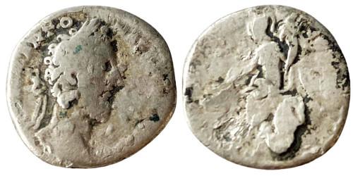Денарий 161 — 181 г. н.е. — Марк Аврелий — серебро №2