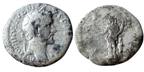 Денарий 138 — 161 г. н.е. — Антонин Пий — серебро №7