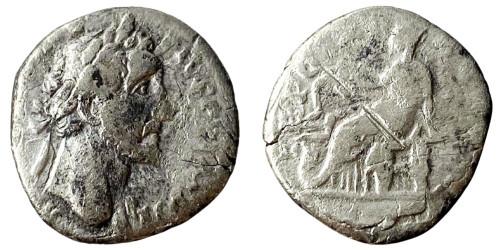 Денарий 138 — 161 г. н.е. — Антонин Пий — серебро №9