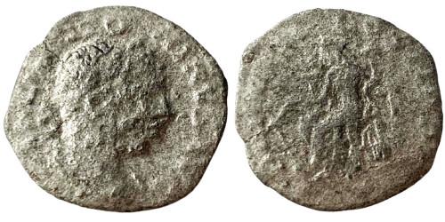Денарий 218 — 222 г. н.е. — Эллагабал — серебро