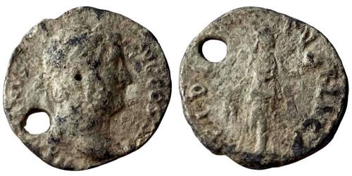 Денарий 117 — 138 г. н.е. — Адриан — серебро №7