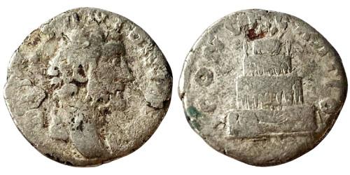 Денарий 138 — 161 г. н.е. — Антонин Пий — серебро №12