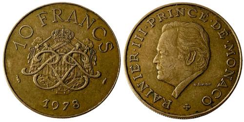10 франков 1978 Монако