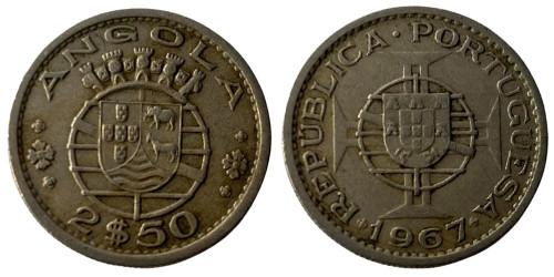 2.5 эскудо 1967 Ангола (Португальская Ангола)