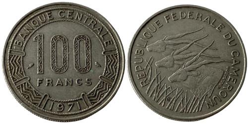 100 франков 1971 Камерун