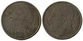 1 крона 1969 Норвегия