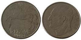 1 крона 1971 Норвегия