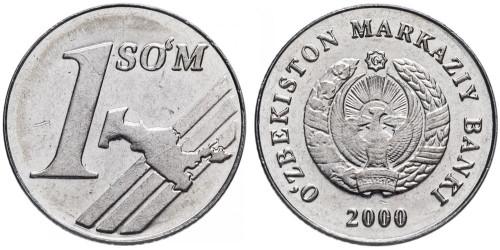 1 сум 2000 Узбекистан UNC