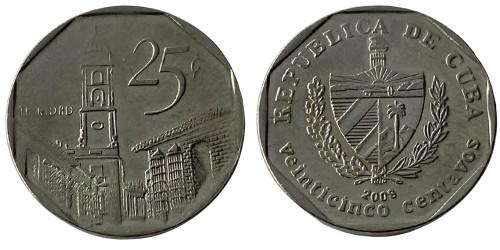 25 сентаво 2008 Куба