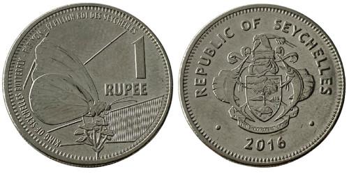 1 рупия 2016 Сейшельские острова