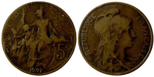 5 сантимов 1907 Франция