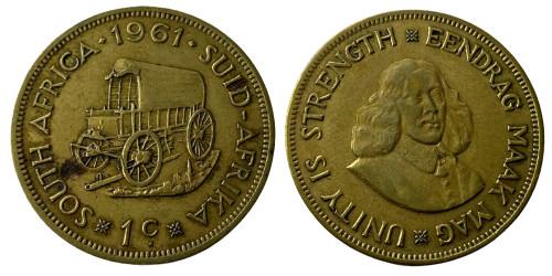 1 цент 1961 ЮАР