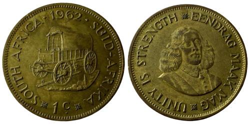 1 цент 1962 ЮАР