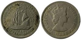 25 центов 1964 Восточные Карибы
